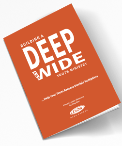building a youth ministry. building a youth group/ deep and wide. building a deep and wide youth ministry. youth ministry books. image of the cover of deep and wide book cover