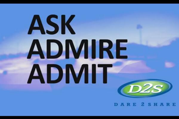 Ask, Admire, Admit
