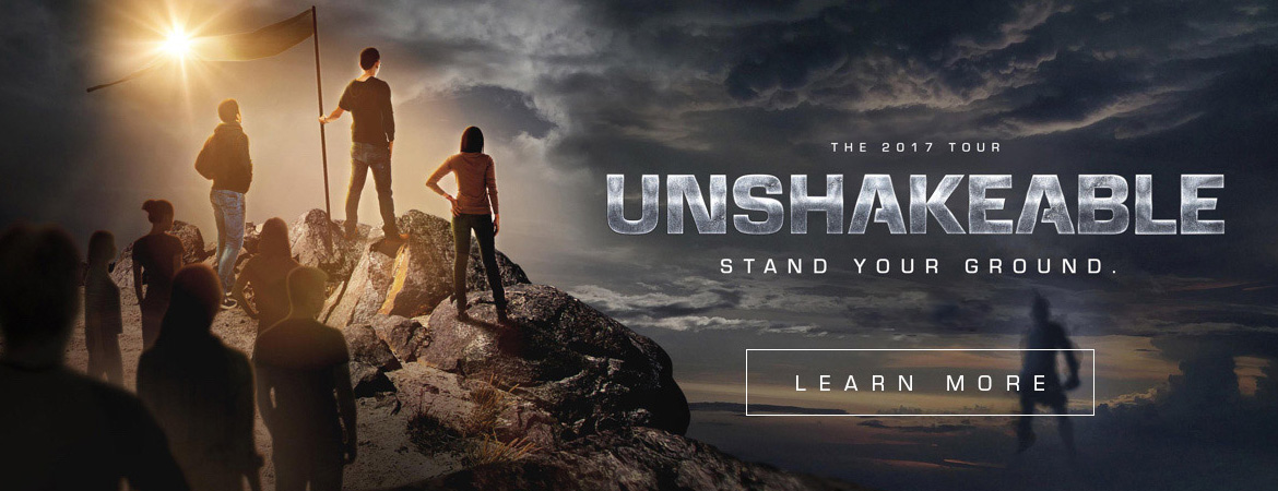 unshakeable tour student conference