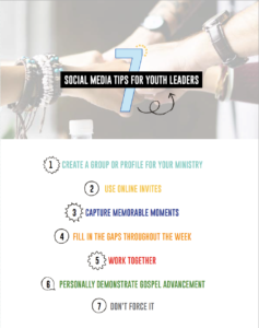 7 Social Media Tips for Youth Leaders