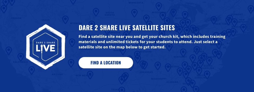 Dare 2 Share Live Satellite Sites