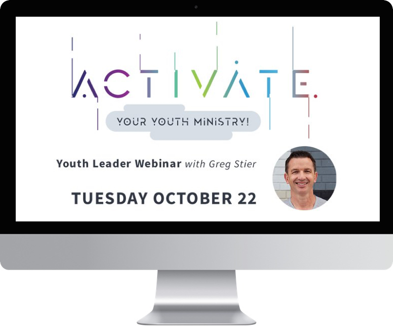 Activate Your Youth Ministry - October 22