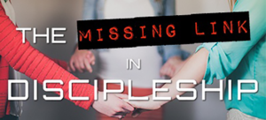 Missing Link in Discipleship youth leader webinar