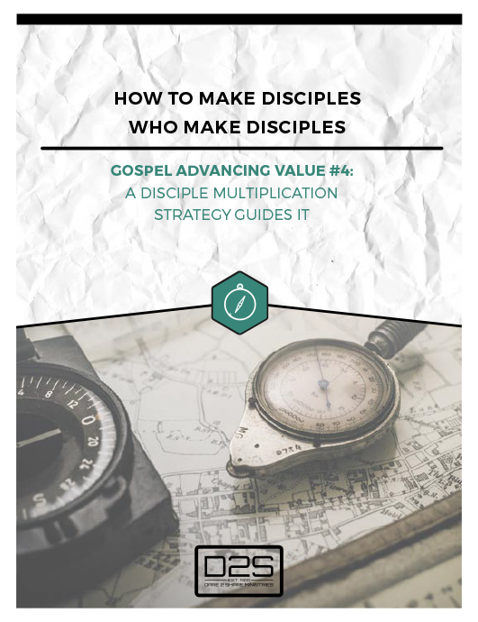 Gospel Advancing Value 4 Whitepaper - Disciple Multiplication