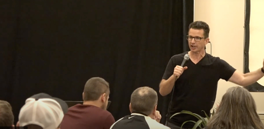 Greg Stier encourages and trains youth leaders on signs of revival