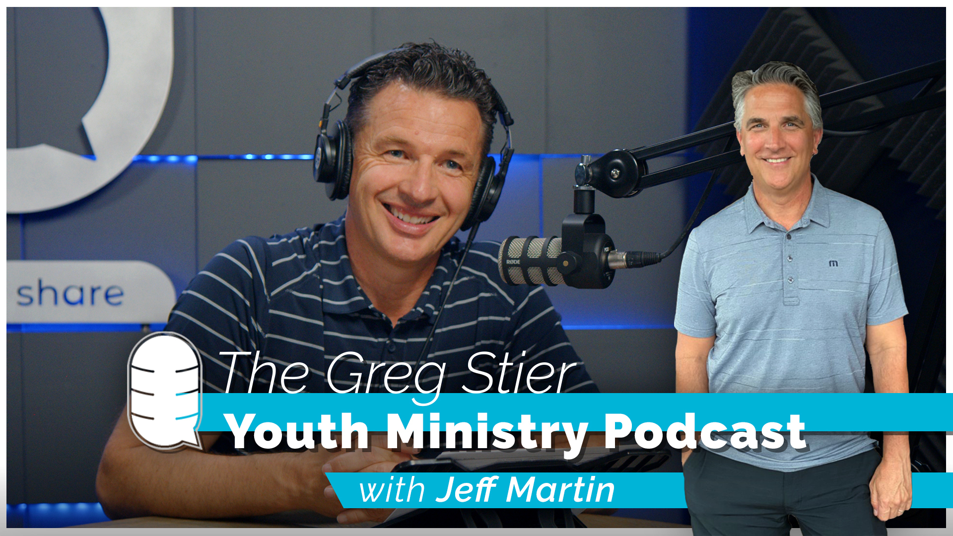 Greg Stier Youth Ministry Podcast with Jeff Martin