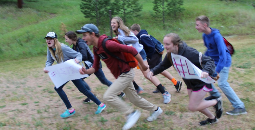 Students excited for Lead THE Cause, a teen evangelism training and short term mission trip.